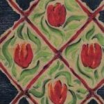 Camelot Cotton-Les Tulipes-Roberta Williams-Eugene Textiles