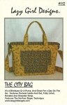The City Bag by Lazy Girl Designs