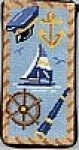 Nautical Eyeglass Case