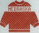 Nebraska sweater