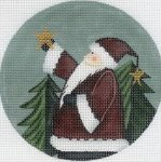 Santa Holding Star