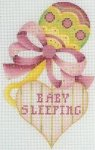 Baby Sleeping Rattle Pink