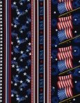 Patriotic Stripe gail-c6950-blue