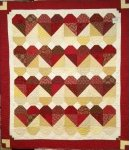 Blended Hearts Quilt Kit