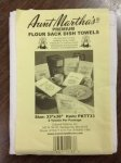Aunt Martha's Old Fashion Flour Sack Towels PKTT33