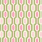 Garden District Heavy Canvas - Caiman Stripe - Pink