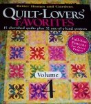 Better Homes & Gardens Quilt Lover's Favorites, Volume 4