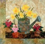Daffodils - Laundry Basket Quilts