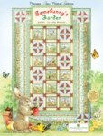 Wilmington Prints Somebunny's Garden Quilt Kit-by Kathy Rusynyk-Q1802-70x106