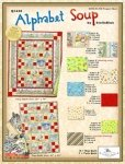 Alphabet Soup Nap Quilt 41 x 55 by Stella Blue for South Seas Imports Fabrics - K10516