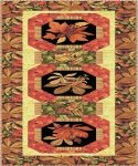 Fall Spectacular by Fabri-Quilt Table Runner Quilt - 20x52 - K10521