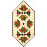 Falling Leaves Table Runner Pattern - Southwind Designs - SWD-408