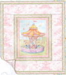 Carousel Dreams by Cynthia Coulter for Wilmington Prints- Quilt Kit-37 1/2x42 1/2