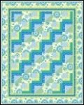 Stepping Stones Quilt Kit 62.5 x 78.5 by Plum Tree Quilts - PTN443-10