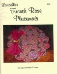 Loribelle's French Rose Placemats