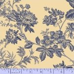 Blue Toile - cream/blue (100239)