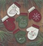 Mittens Ornament kit (K0508) (633162005080)