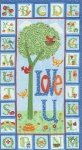 Love U Panel - blue sky (91752)