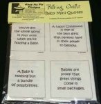 Talking Quilts Mini-Baby Quotes 