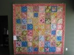Pastel Floral Parade quilt