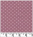Woolies Flannel Pindot on Violet