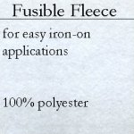 Pellon Fusible Fleece PP987 **DOES NOT QUALIFY FOR FREE SHIPPING**