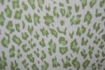 Cheetah Print Wild Thing Lime and Ivory Modern Jungle Heavy Cotton Fabric HD384-OSYM