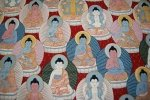 Buddha Zen Asia Alexander Henry Awesome Cotton Fabric Quiliting Fabirc Religion CR102