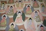 Buddah Zen Asia Alexander Henry Awesome Cotton Fabric Quilting Fabric Religion CR103
