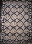 ARCHIBALD DAVIDSON, ITHACA, NY ANTIQUE JACQUARD COVERLET