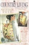 Amy Butler Vintage Style Backpack Tote