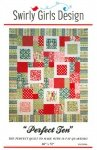 Perfect Ten Quilt Pattern by Swirly Girls Design