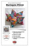 Harlequin Star Patchwork Pillow and Pincushion Pattern by La Todera
