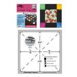Charming 5in Square Template-5 - Creative Grids -CGRFFQ1