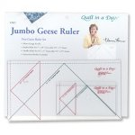 Jumbo Geese Ruler Set-Quilt in a Day