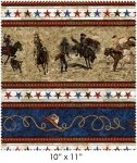 Galaxy-Dusty Trails-Border Print-Multi-402-Z