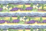 Andover-Lavender Bliss-Scene Border-A-5776-P - CLEARANCE