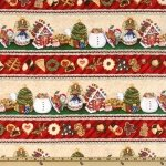Wilmington Prints Christmas Cookie Jar Border