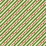 Wilmington Prints Christmas Cookie Jar Candy Icing Stripe Green