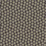 Michael Miller DAISY FLOWERS Fabric - Cocoa, SALE