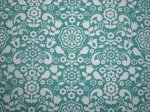 SALE - Anthology - BONJOUR FRENCH Wallpaper - Turquoise