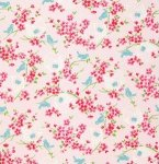 Tanya Whelan Fabric Sugar Hill Birdy Pink