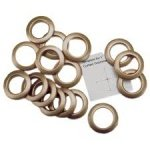 Dritz Home Grommets, 1 Gold, 4 pair