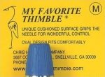 My Favorite Thimble, Size M