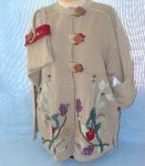 Crawford Designs #140 Spice It Up! Pleated jacket with bag