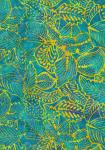 Island Leaves Batik B7779 by Hoffman