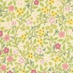32019-11BB Nouveau Garden Cream Subtle Pink Baby Bolt - 1 yard, 17 inches