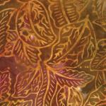 4501-43 Montego Batiks Leaves Rust