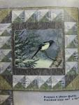Winter Whispers Bird & River Quilt Kit