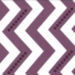 Simply Color - Dotted Zig Zag in Eggplant